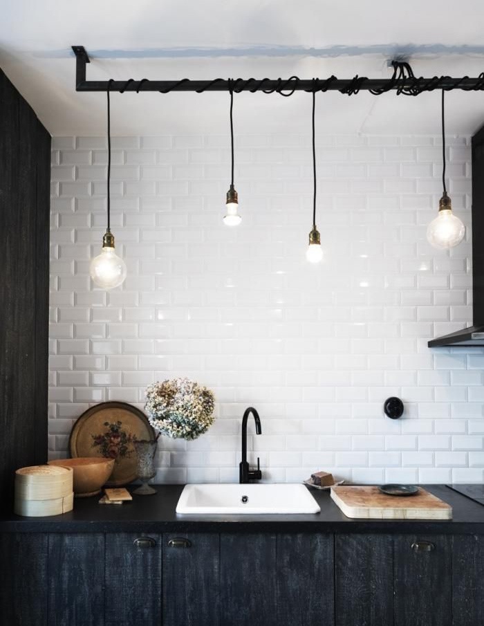 Light bulbs livvyland austin fashion style blog by for Diy kitchen light fixtures