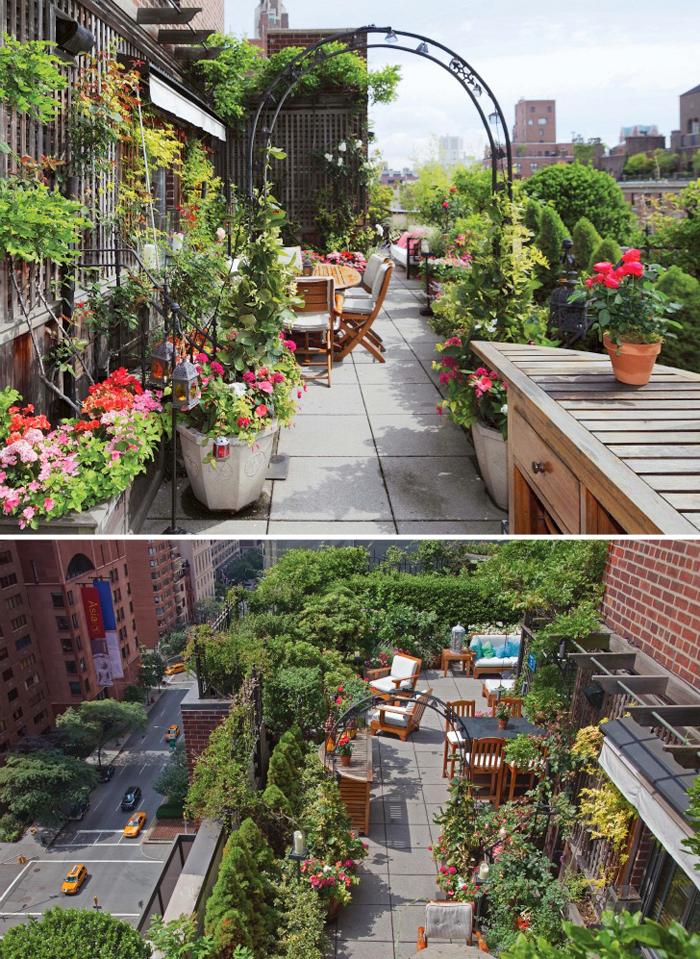Dekor balkon inspiratie for Terrace 33 city garden