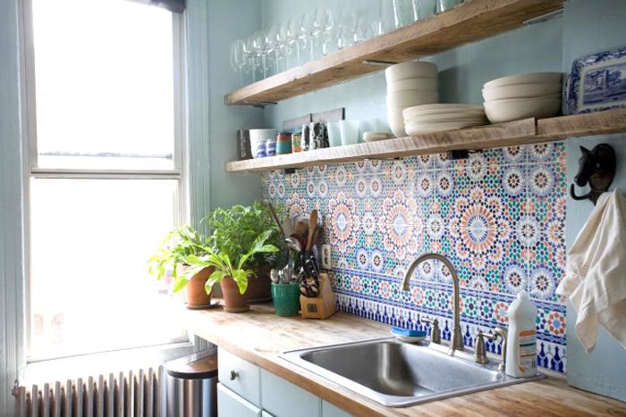 Kitchen Backsplash Tile Colorful