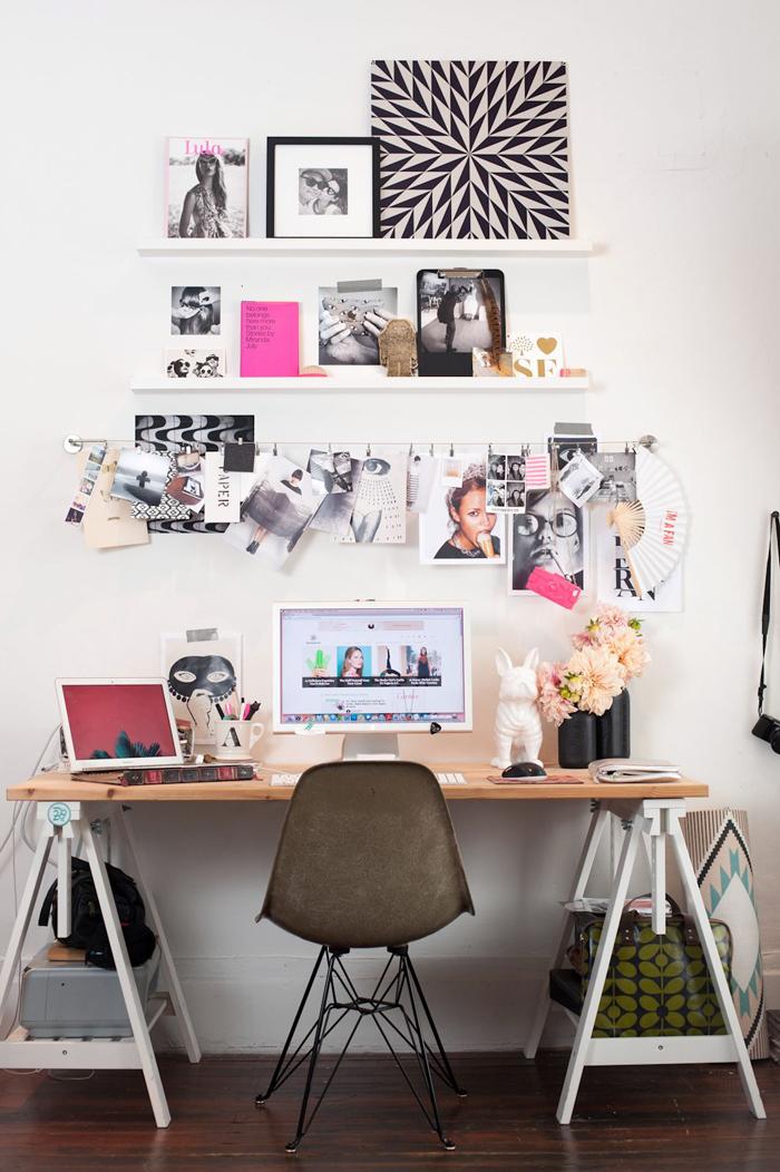 Pretty Desk Decor Image Yvotubecom - Cute office decorating ideas