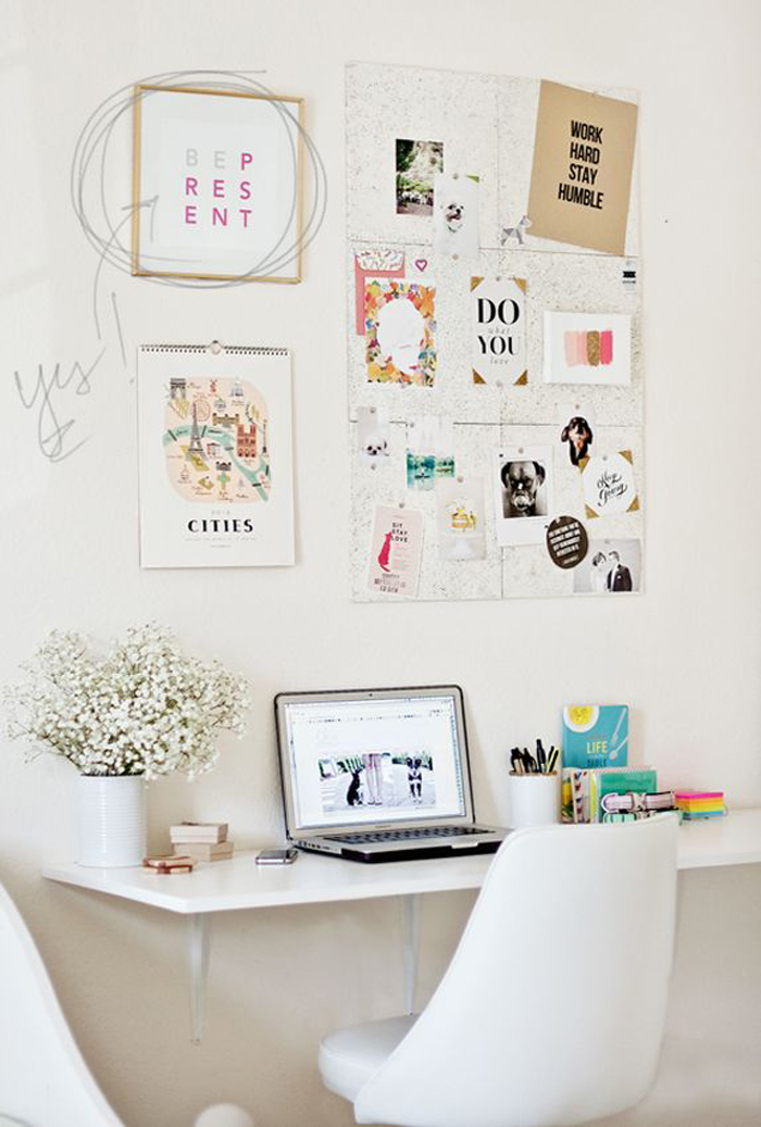 Remarkable Cute Office Decorating Ideas Ideas Decor Desk Office Largest Home Design Picture Inspirations Pitcheantrous