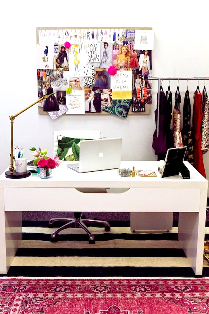 Lastest Gallery Of 17 Pink Office Ideas  Cute Space For Girl