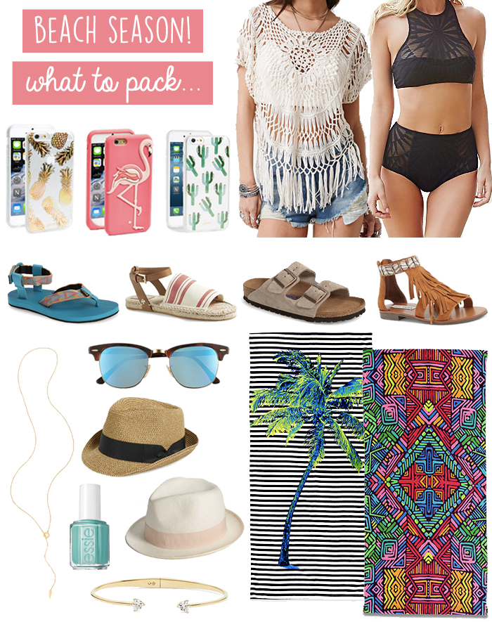 938a238225e5 What to Pack for a Beach Vacation - LivvyLand