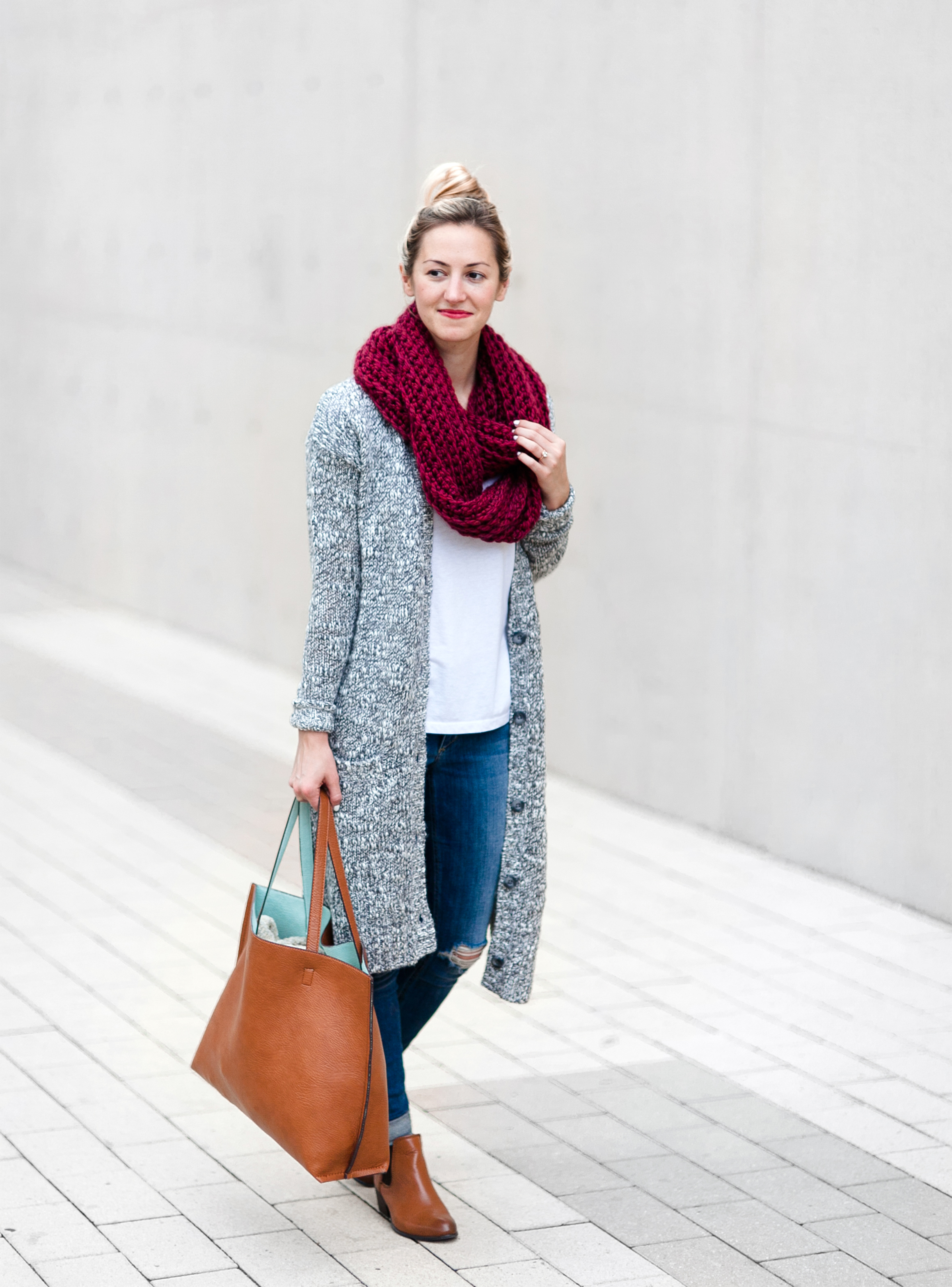 Cozy Long Cardigan On Sale Livvyland Austin Fashion And Style Blogger