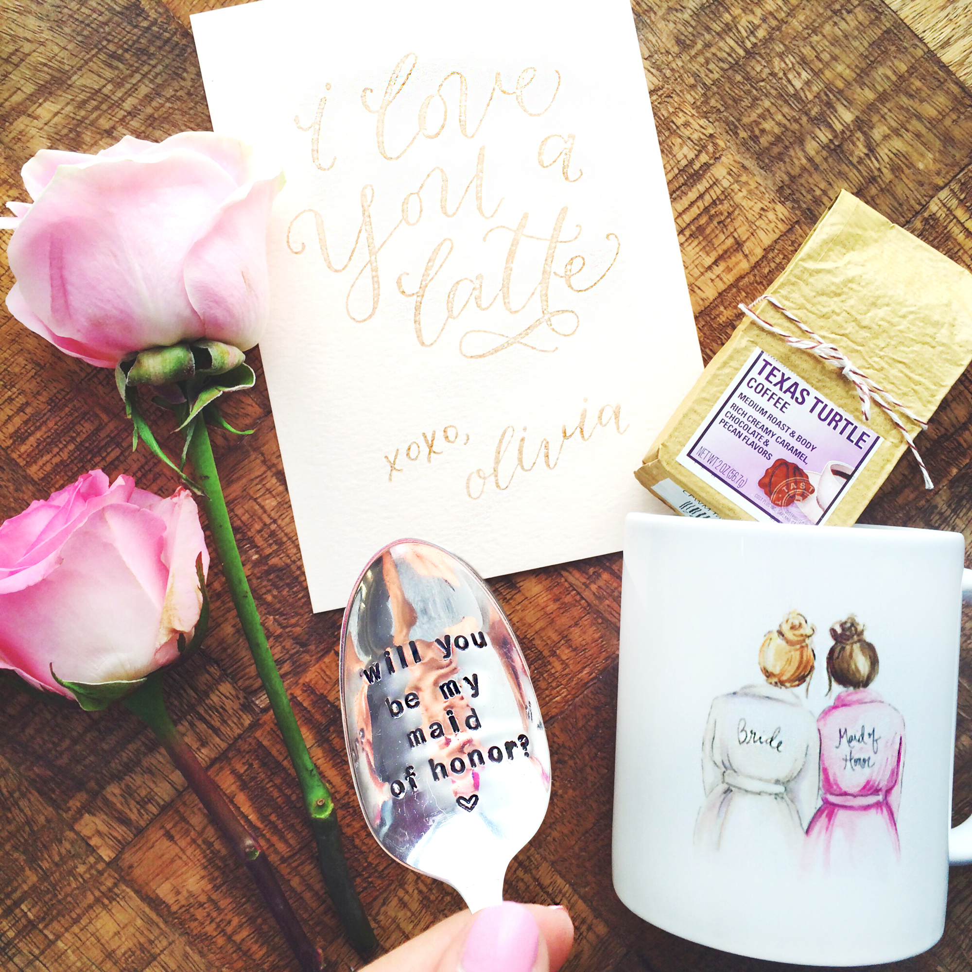 LivvyLand / Bridal Party Gift Idea
