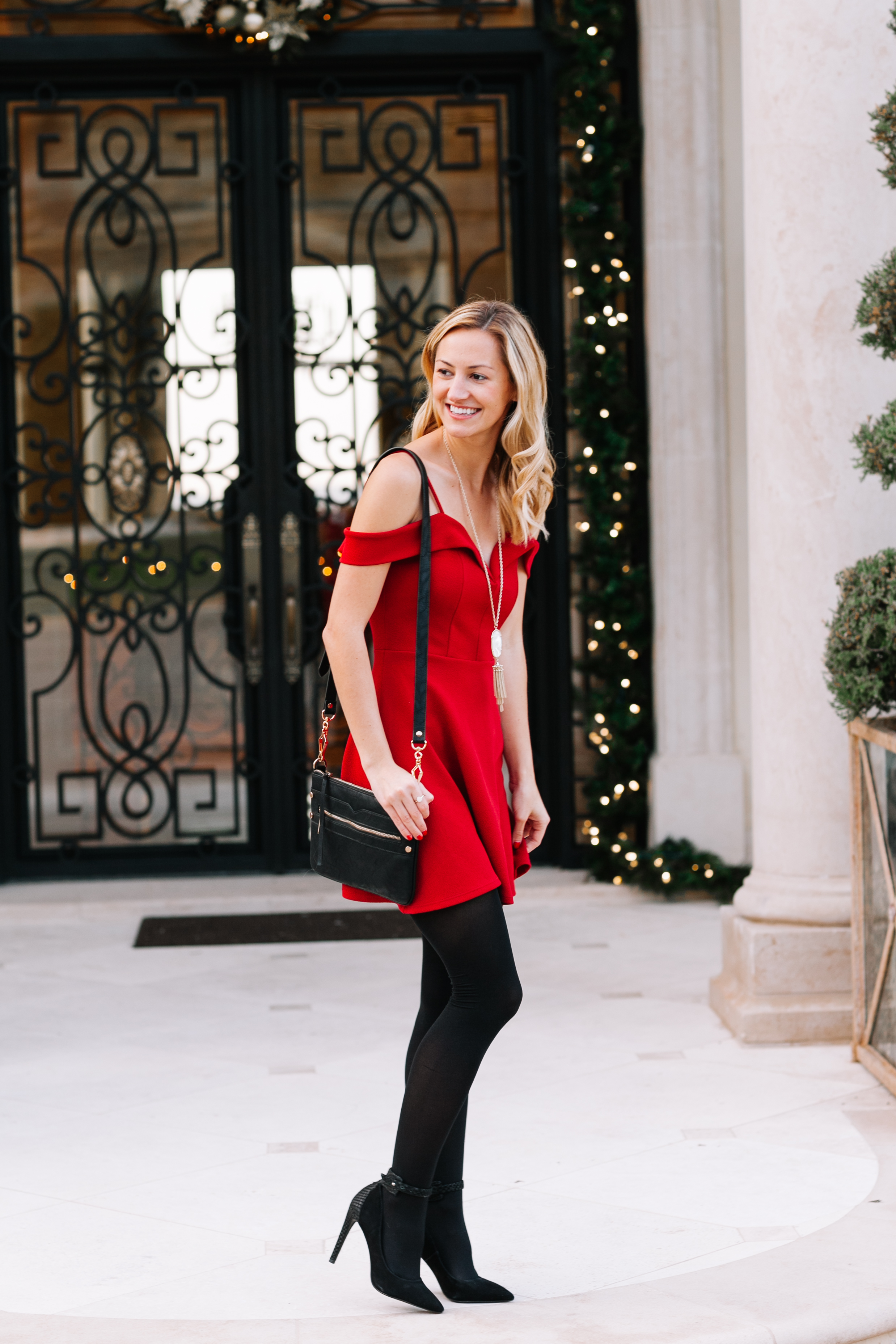 Holiday Party Style: Little Red Dress - LivvyLand | Austin ...