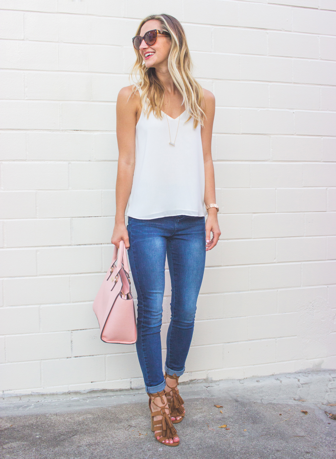 Simple Summer Outfit In Ny Amp C Soho Denim Livvyland