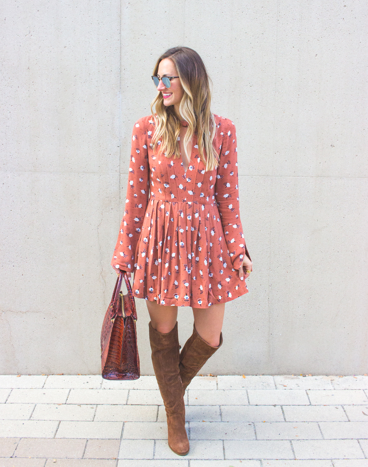 livvyland-blog-olivia-watson-fall-outfit-over-the-knee-boots-tegan-mini-dress-steve-madden-eternul-brahmin-priscilla-satchel-2